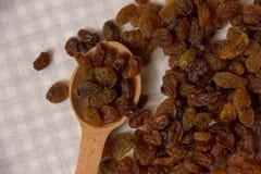 Pile of raisins Stock Images