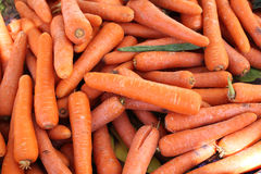Pile of raw carrots Royalty Free Stock Photography