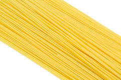 A Pile of Raw Spaghetti Close-up Royalty Free Stock Photo