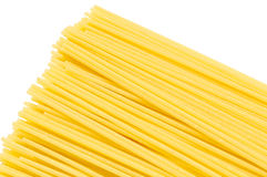 A Pile of Raw Spaghetti End Close-up Stock Images