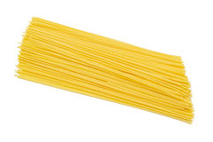 A Pile of Raw Spaghetti Royalty Free Stock Image