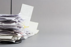 Receipts Royalty Free Stock Images