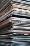 Pile record Image libre de droits