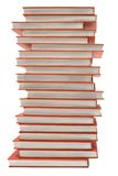 Pile of Red Books w/ Path Stock Photography