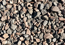 Pile of red and gray stones. Royalty Free Stock Images