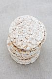 Pile of rice cakes Royalty Free Stock Photos