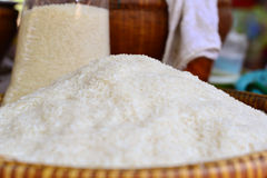 Pile of rice Stock Photo