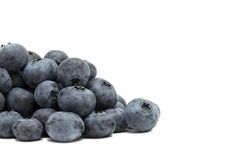 Pile of ripe blueberry () Stock Image
