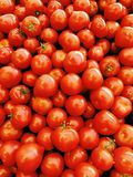 Pile of ripe red tomatoes Stock Image