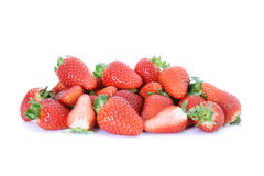 Pile of ripe strawberries Stock Images