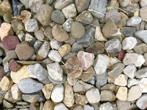 Pile of River Rock Stock Images