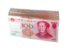 A pile of RMB Royalty Free Stock Image