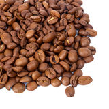 Pile of roasted coffee beans Stock Photography
