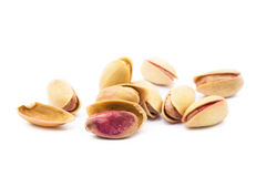 Pile of roasted pistachios Stock Photography