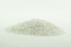 Pile of Rock Crashed Salt. Royalty Free Stock Image
