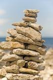 Pile of rocks Stock Photo
