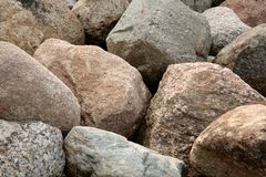 Pile of rocks Royalty Free Stock Photography