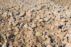Pile of Rocks Boulders Construction Royalty Free Stock Photography