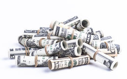 Pile of rolls Royalty Free Stock Photo