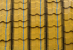 Pile of roof tiles Royalty Free Stock Image