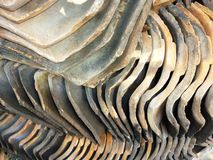 Pile of roofing tiles Stock Image