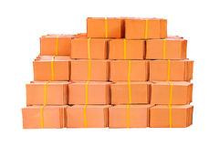Pile of roofing tiles Royalty Free Stock Photography