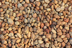 Pile of round peeble stones Royalty Free Stock Photos