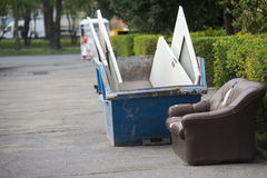 Pile of rubbish Stock Images