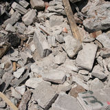 Pile of rubble Stock Images