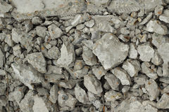 Pile of rubble concrete  background Royalty Free Stock Image