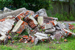Pile of rubble Stock Photo