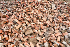 Pile of rubble Royalty Free Stock Image