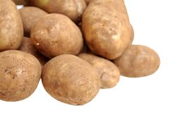 A pile of russet potato Royalty Free Stock Photography