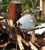 Pile of rust scrap metal. Royalty Free Stock Images