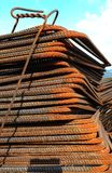 Pile of rusty armature Royalty Free Stock Photo