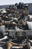 Pile Of Rusty Car Parts Royalty Free Stock Photo