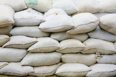 Pile of sacks Stock Images