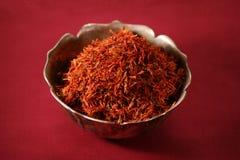 Pile of saffron Stock Images
