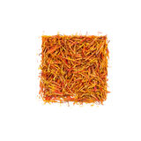 Pile saffron spice Royalty Free Stock Image