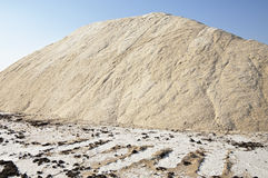Pile of salt Royalty Free Stock Photo