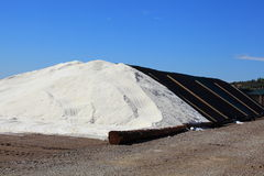 Pile of salt royalty free stock photography