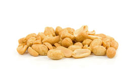 Pile of salted peanuts Royalty Free Stock Photography