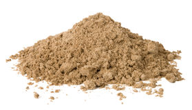 Pile of sand stock photo
