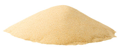 Isolated pile of sand stock images
