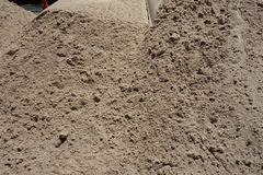 Pile of Sand Royalty Free Stock Photography