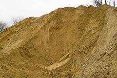 Pile of sand Royalty Free Stock Photo
