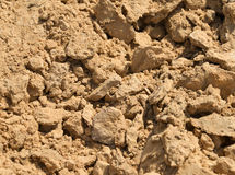Pile of sand isolated on background. Mineral stock photo