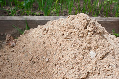 Pile of sand Stock Image