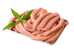 A pile of sausages Royalty Free Stock Photography