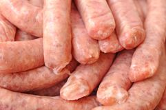 A pile of sausages Stock Photography